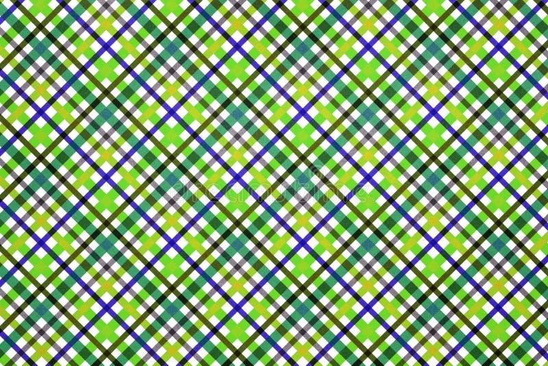 Teste padrão sem emenda da manta colorida imagens de stock