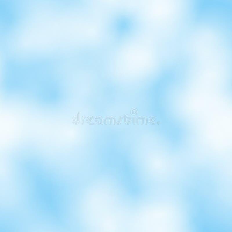 Teste padrão sem emenda da nuvem fotografia de stock royalty free