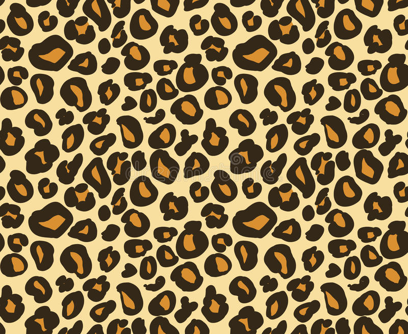 Teste padrão sem emenda da pele do leopardo/chita, fundo animal abstrato, ilustração do vetor ilustração royalty free