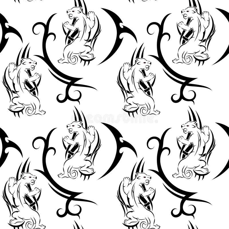 Pantera Tribal Ilustracao Do Vetor Ilustracao De Ilustracao
