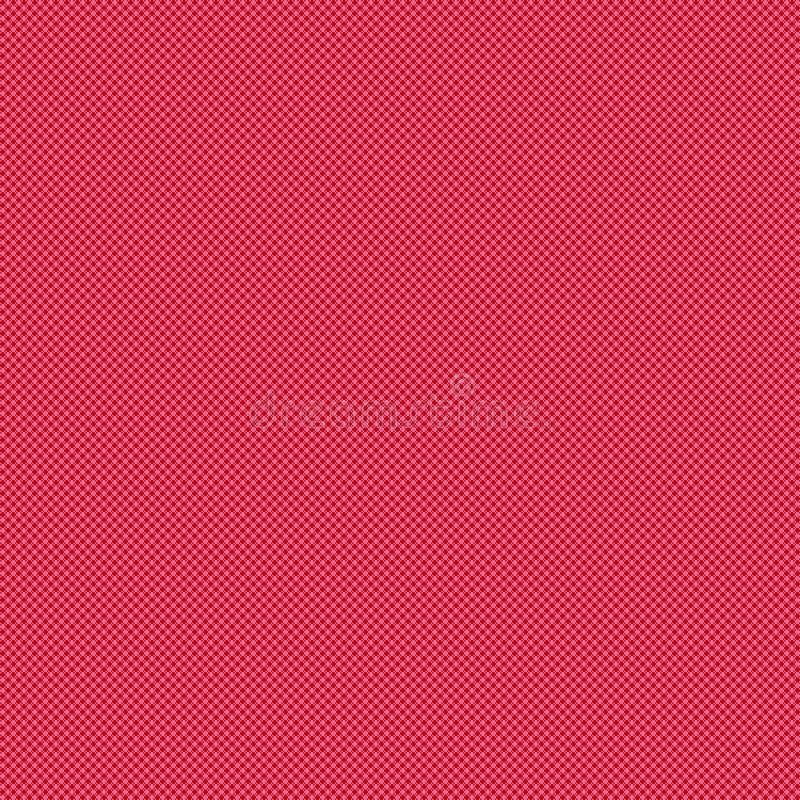 Teste padrão sem emenda da tela ilustração do vetor