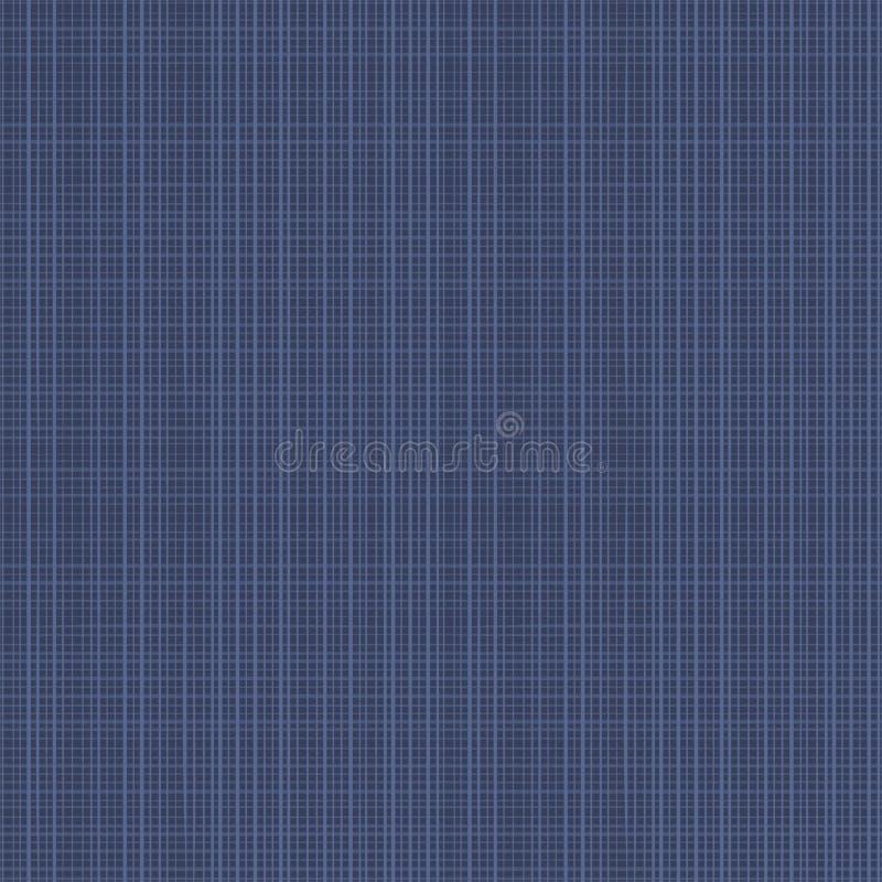 Teste padrão sem emenda da textura da tela ilustração royalty free
