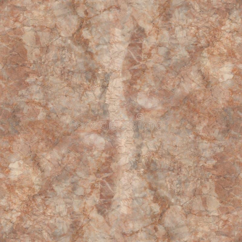 Teste padrão sem emenda da textura de mármore marrom fotografia de stock royalty free