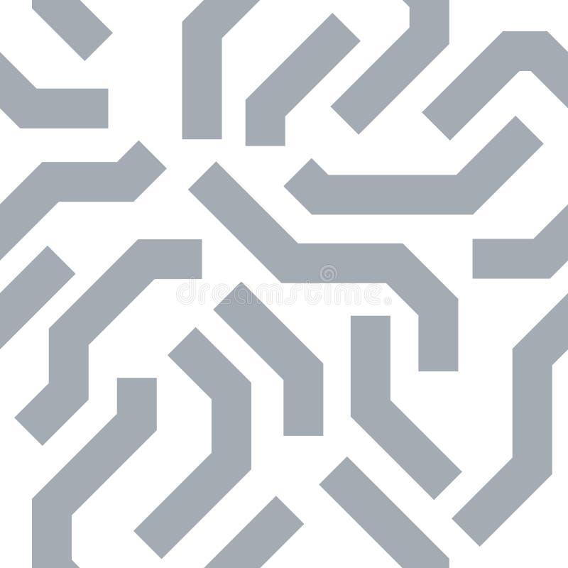 Teste padrão sem emenda da textura futurista do vetor imagem de stock