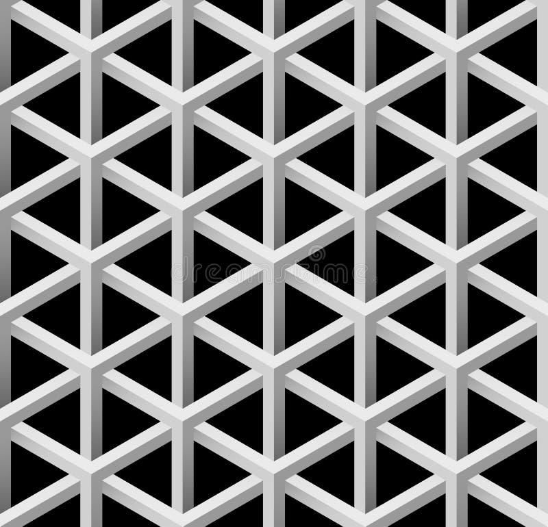 Teste padrão sem emenda da textura futurista do vetor foto de stock