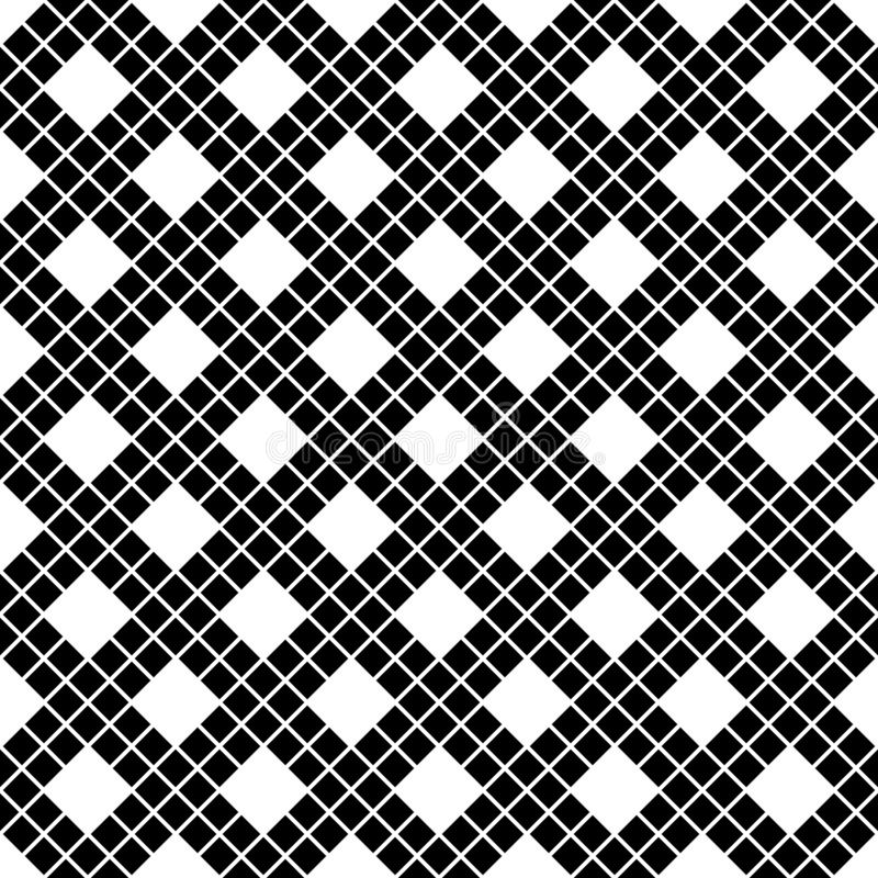 Teste padrão sem emenda das linhas e dos rombos Fundo geométrico foto de stock