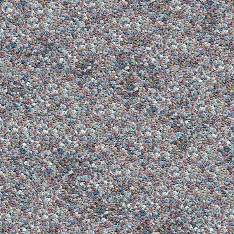 Teste padrão sem emenda de Composable do cascalho do cimento imagem de stock