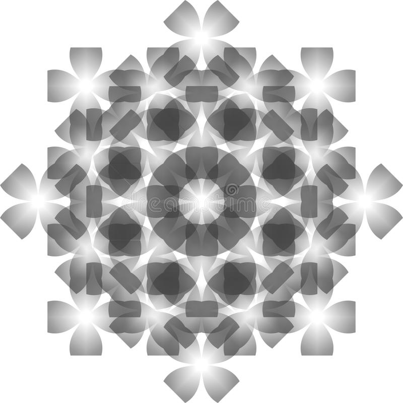 Teste padrão sem emenda de cristal imagem de stock