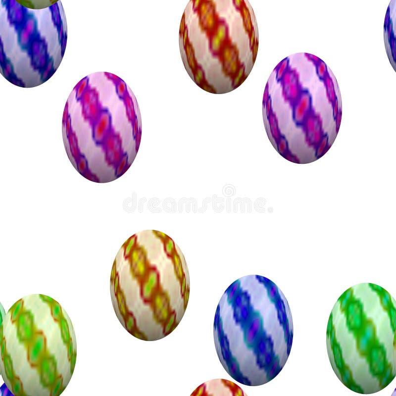 Download Teste Padrão Sem Emenda De Easter Com Ovos Ilustração Stock - Ilustração de ilustração, abril: 65576647