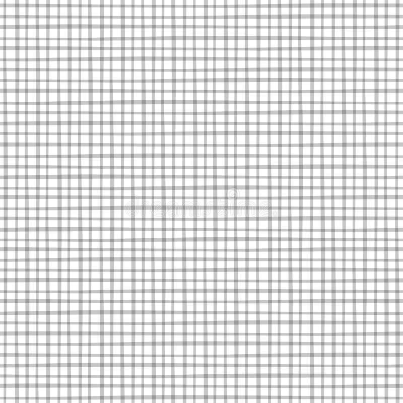 Teste padrão sem emenda de Geomentic com linhas transversais ilustração royalty free