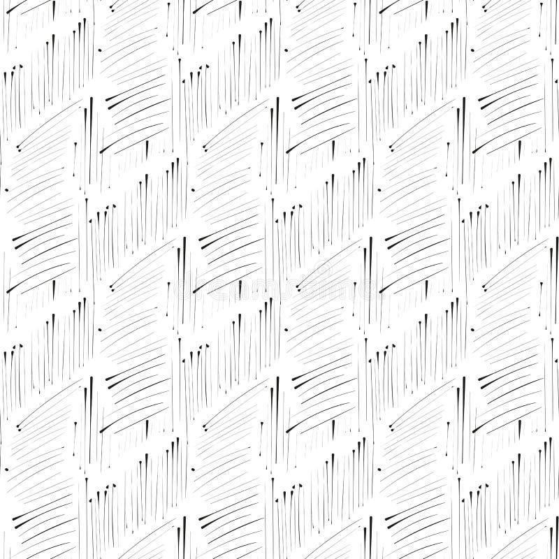 Teste padrão sem emenda de imitação da tinta do portal ilustração do vetor