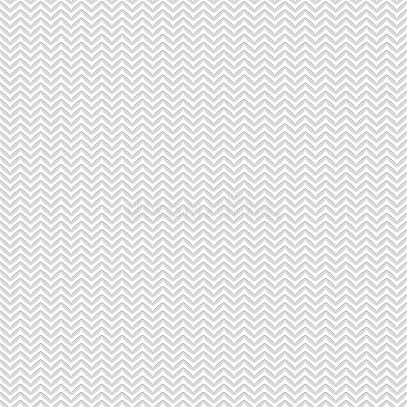 Teste padrão sem emenda de linhas do ziguezague Papel de parede listrado geométrico ilustração do vetor