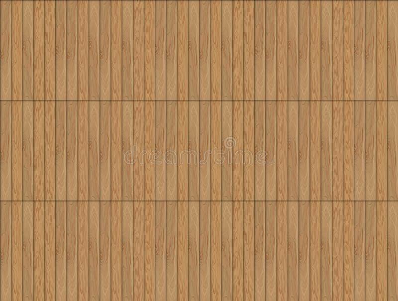 Teste padrão sem emenda de madeira do vetor, fundo da cor de Brown, pavimentando a ilustração do contexto ilustração do vetor