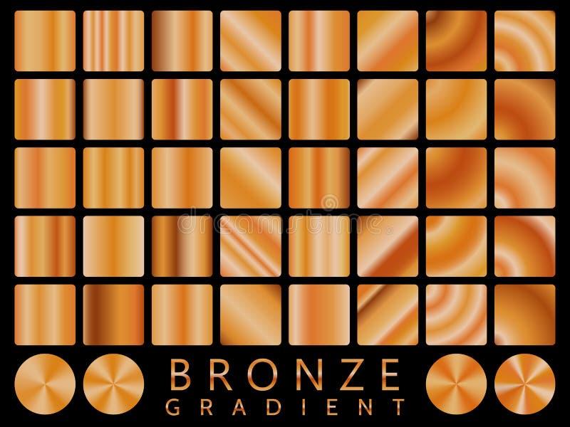 Teste padrão sem emenda do ícone de bronze do vetor da textura do fundo Illustratio da luz, o realístico, o elegante, o brilhante ilustração royalty free