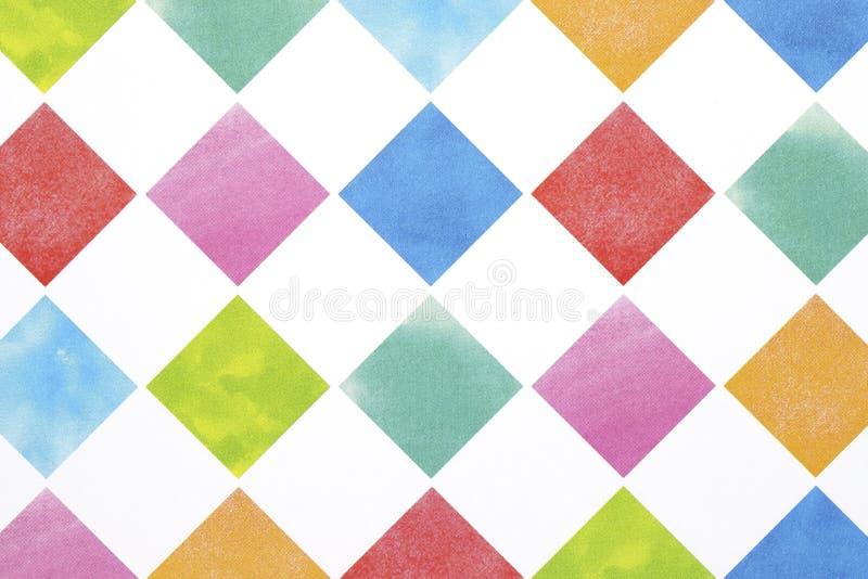 Teste padrão sem emenda do argyle colorido fotos de stock