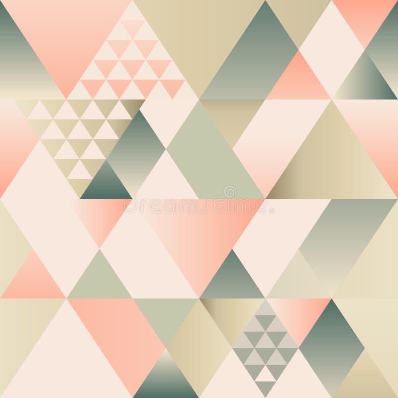 Teste padrão sem emenda do art deco do vetor Textura geométrica moderna Repetindo o fundo abstrato Projeto abstrato moderno para ilustração do vetor