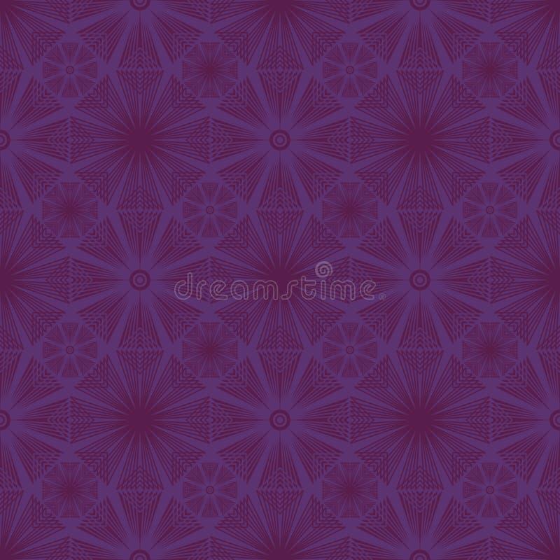 Teste padrão sem emenda do círculo oito ilustração royalty free