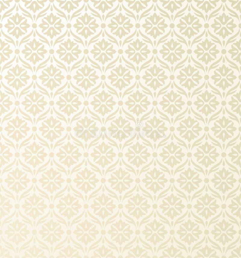 Teste padrão sem emenda do papel de parede ilustração stock