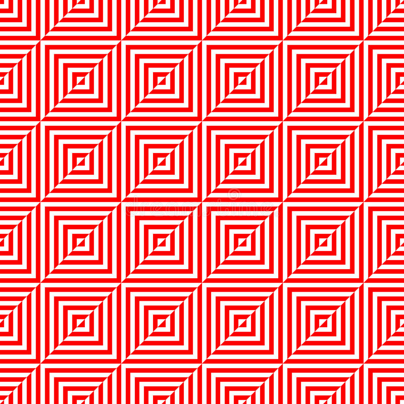 Teste padrão sem emenda do polígono geométrico Projeto gráfico da forma Ilustração do vetor Projeto do fundo Ilusão ótica 3D Styl ilustração do vetor