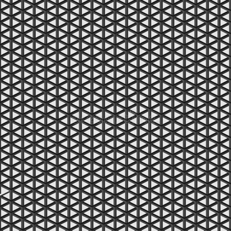 Teste padrão sem emenda do polígono geométrico Projeto gráfico da forma Ilustração do vetor Projeto do fundo Stylis modernos ótic ilustração royalty free