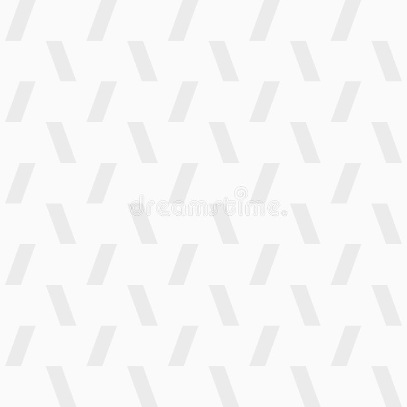 Teste padrão sem emenda do vetor de retângulos inclinados textura à moda moderna Cópia gráfica de Minimalistic ilustração royalty free