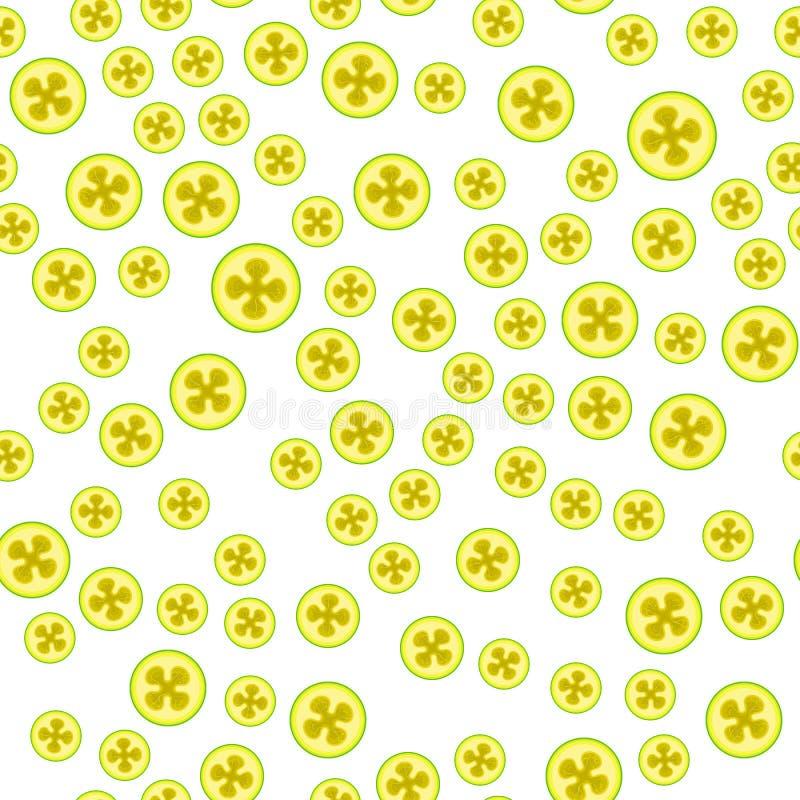 Teste padrão sem emenda do vetor do feijoa Fundo do alimento de Minimalistic Textura repetível das vitaminas ilustração do vetor