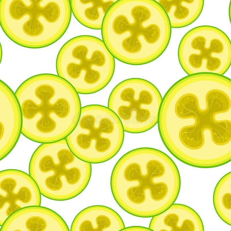 Teste padrão sem emenda do vetor do feijoa Fundo do alimento de Minimalistic Textura repetível das vitaminas ilustração royalty free