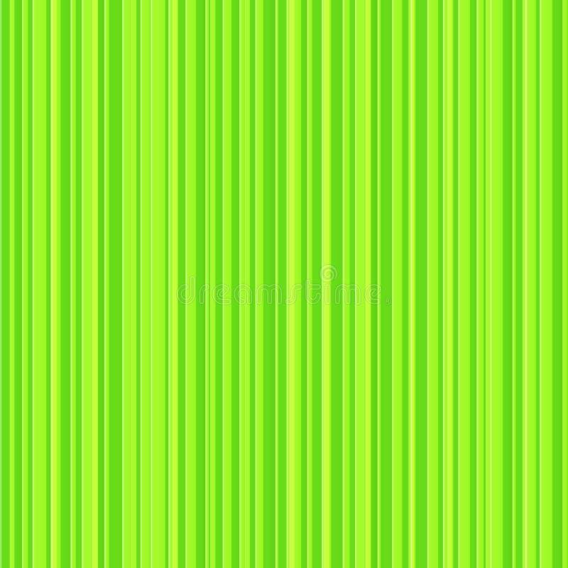 Teste padrão sem emenda do vetor verde abstrato das listras ilustração do vetor