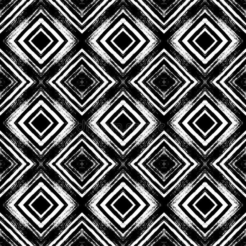 Teste padrão sem emenda do vintage com linhas escovadas ilustração royalty free