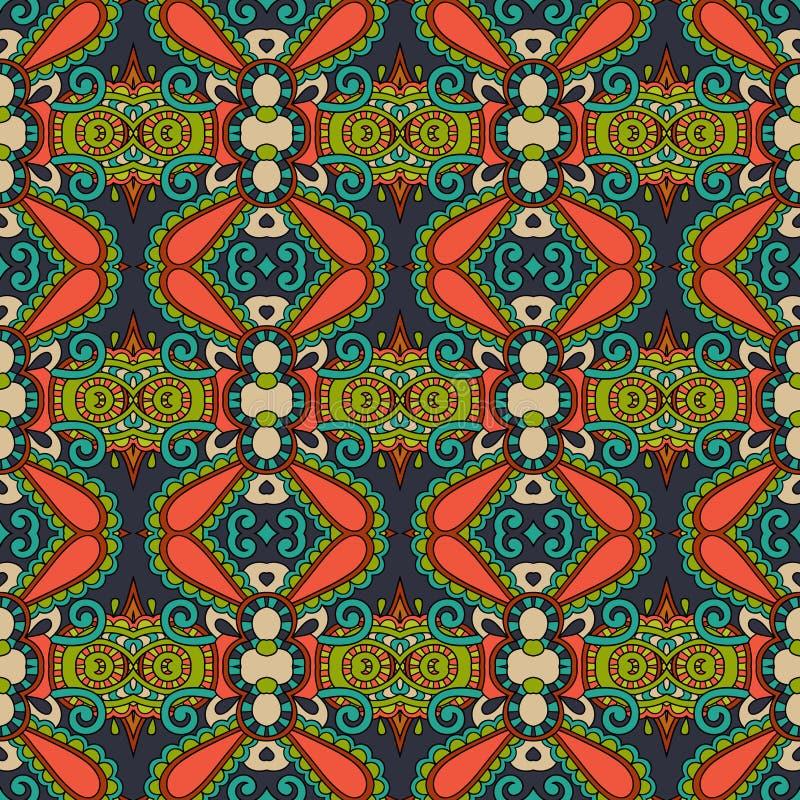 Teste padrão sem emenda do vintage da geometria, estilo étnico ilustração royalty free