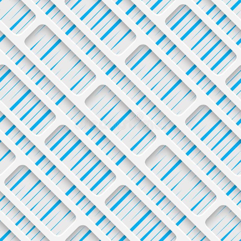 Teste padrão sem emenda do Web Fundo creativo abstrato ilustração do vetor