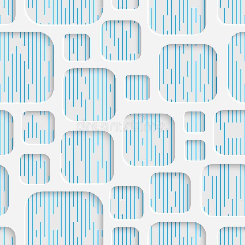 Teste padrão sem emenda do Web Fundo creativo abstrato ilustração stock