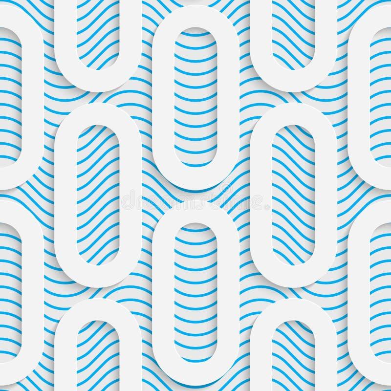 Teste padrão sem emenda do Web Fundo creativo abstrato ilustração royalty free