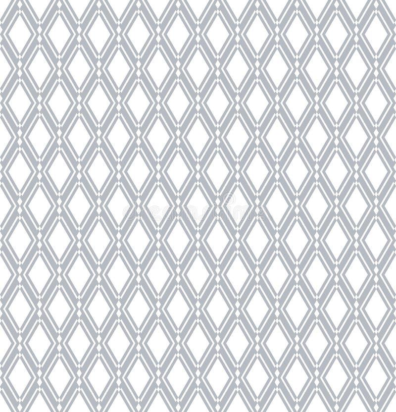Teste padrão sem emenda dos diamantes Textura geométrica ilustração royalty free