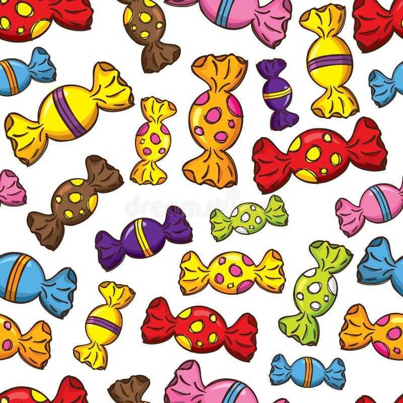 Download Fundo dos doces ilustração stock. Ilustração de divertimento - 29827674