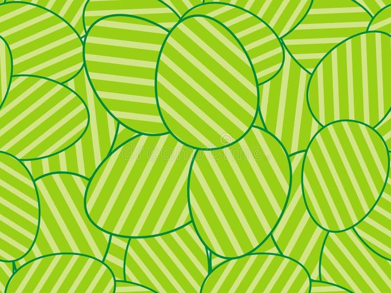 Teste padrão sem emenda dos ovos de Easter ilustração stock