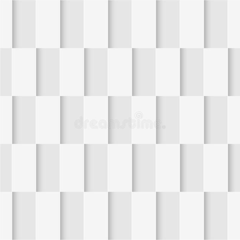 Teste padrão sem emenda dos retângulos Papel de parede geométrico Backgr macio ilustração do vetor
