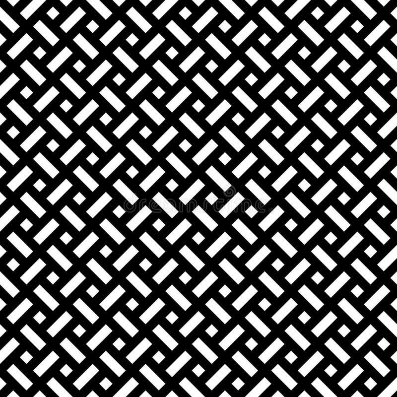 Teste padrão sem emenda dos rombos e dos retângulos Fundo geométrico imagens de stock