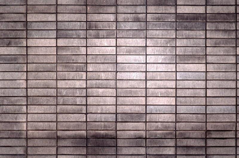 Teste padrão sem emenda dos tijolos foto de stock