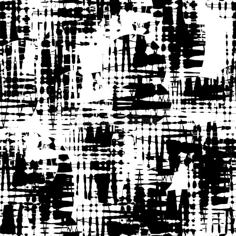 Teste padrão sem emenda dos ziguezagues ilustração do vetor