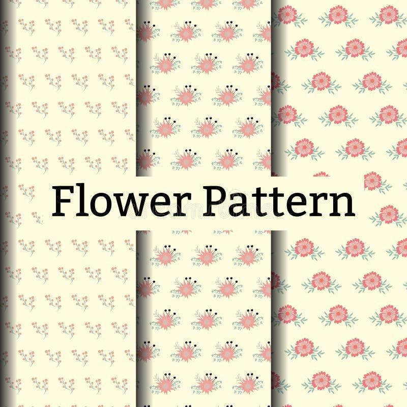 Teste padrão sem emenda floral étnico ilustração do vetor