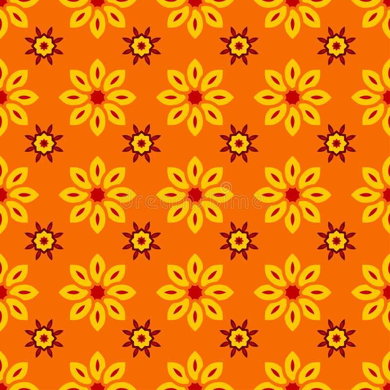 Amado Teste Padrão Sem Emenda Floral Com As Flores Amarelas No Fundo  RM42