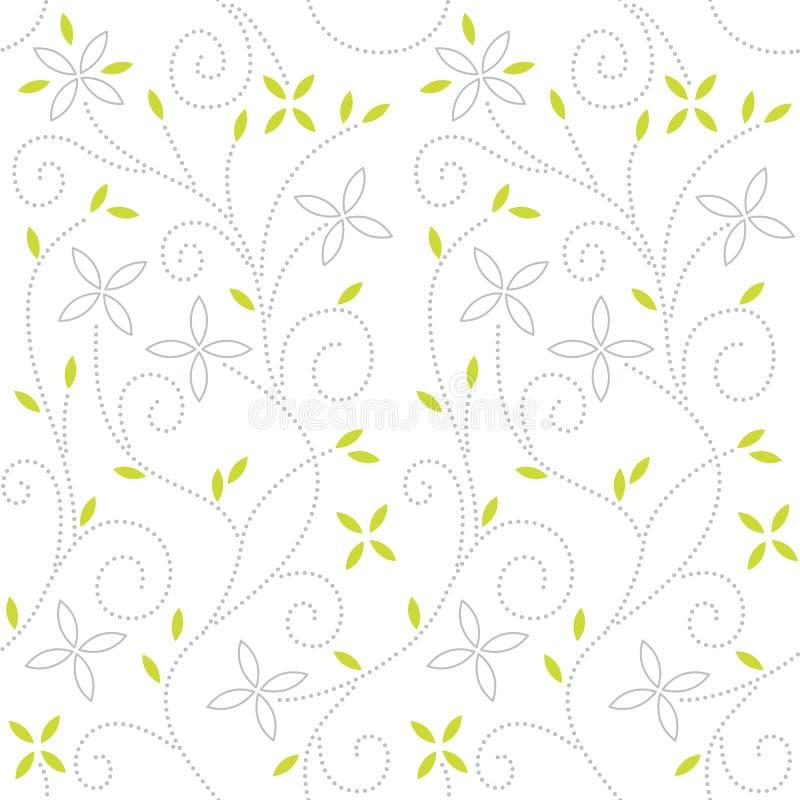 Teste padrão sem emenda floral do redemoinho