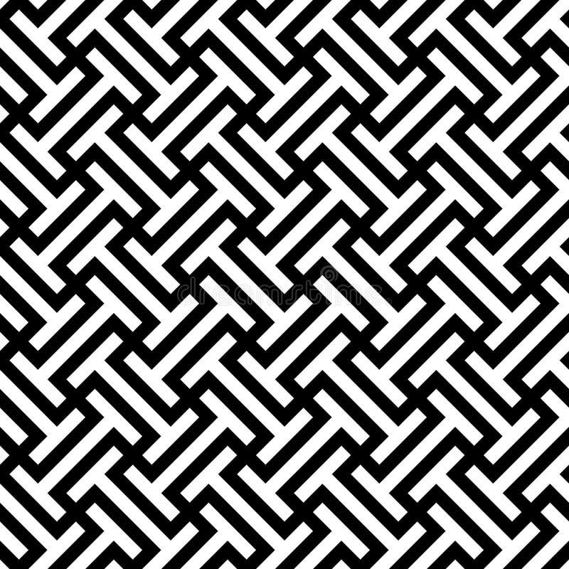 Teste padrão sem emenda Fundo geométrico fotografia de stock royalty free