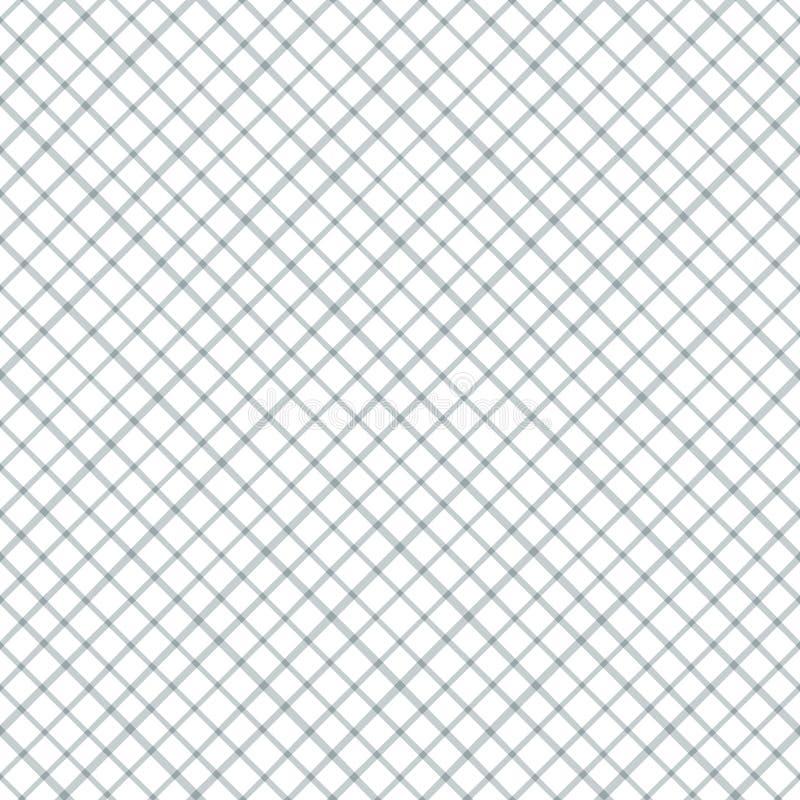 Teste padrão sem emenda geométrico com linhas transversais ilustração royalty free