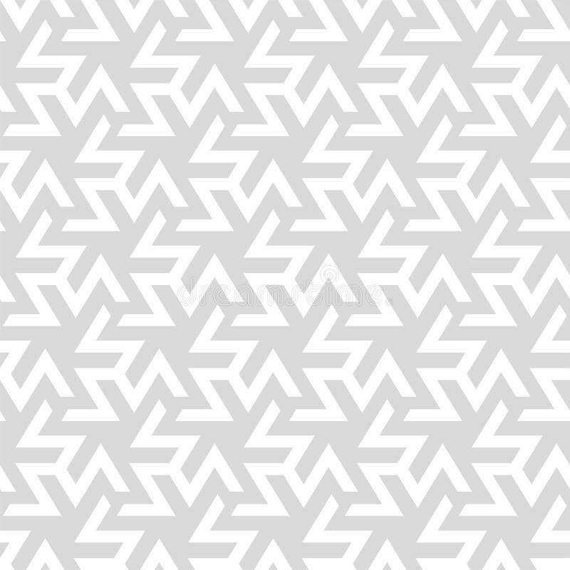 Teste padrão sem emenda geométrico do vetor Fundo creativo abstrato ilustração stock