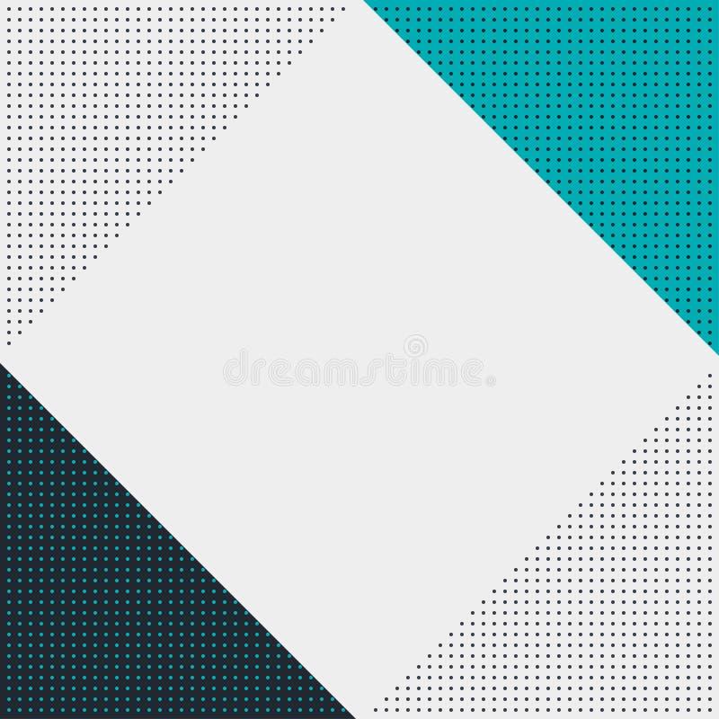 Teste padrão sem emenda geométrico do vetor textura à moda moderna ilustração do vetor