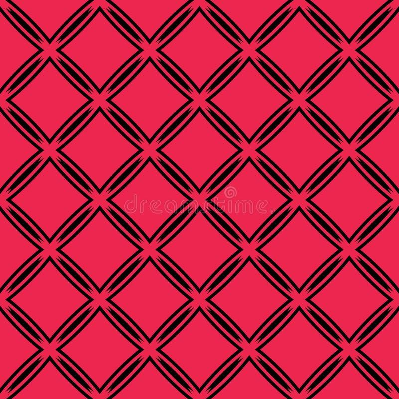 teste padrão sem emenda geométrico Fundo do vetor no estilo oriental Cores brilhantes na moda Textura árabe do ornamental do mold ilustração royalty free