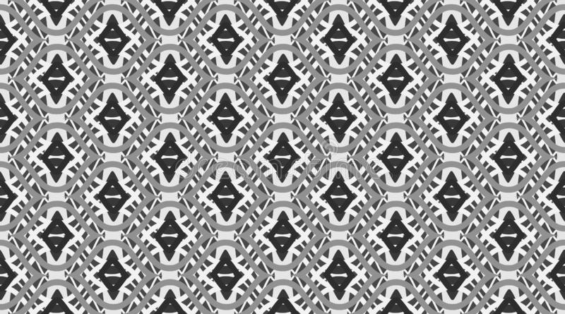 Teste padrão sem emenda geométrico Ornamento bonito delicado Cópia geométrica da tela da forma teste padrão nSeamless do vetor ilustração royalty free