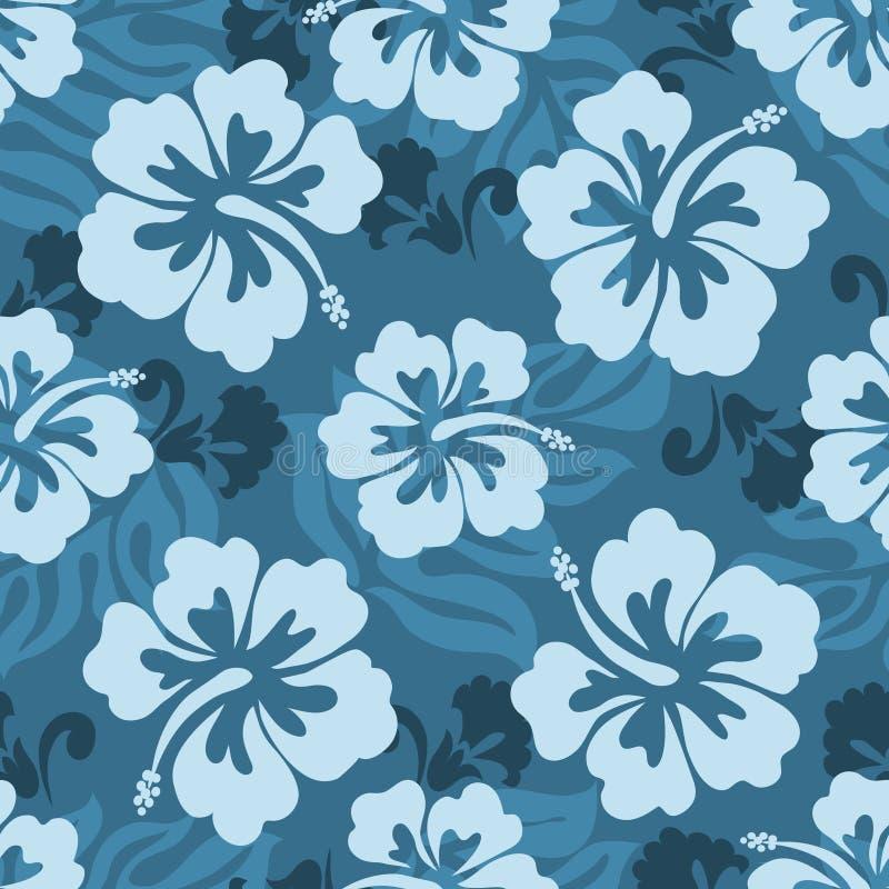 Teste padrão sem emenda havaiano foto de stock